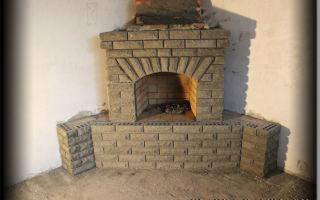 Как построить угловой камин: раскрываем секреты