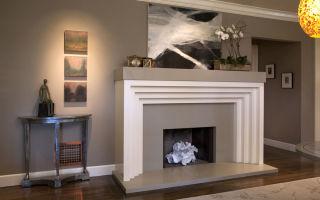 Камин из гипсокартона – украшение любого дома