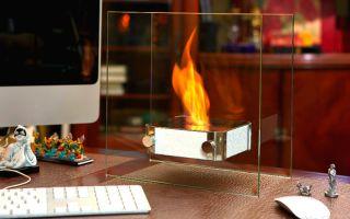Камины стеклянные – огненное шоу в вашем доме