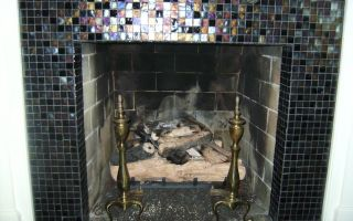 Советы мастера по отделке камина мозаикой