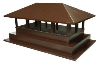 Колпак на дымоход – современный архитектурный элемент