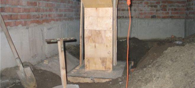 Можно ли строить печь на плите перекрытия