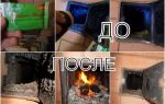 Из топочной камеры повалил дым: почему пропала тяга и как почистить печь от сажи