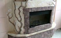 Штукатурка каминов: декоративные штукатурки и их применение