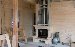 Устройство камина в деревянном доме: как правильно выбрать и безопасно установить