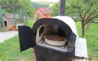 Вторая жизнь старых вещей: дачная печь из чугунной ванны