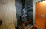 Чем можно отделать стену за печкой в сауне
