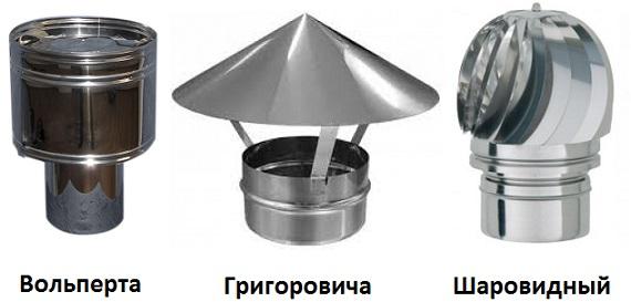 Дефлектор дымохода — изготовление своими руками
