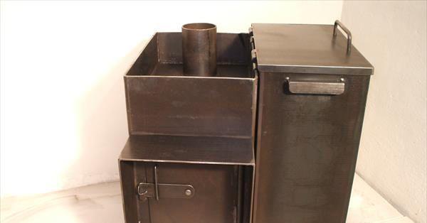 До какой температуры нагревается банная печь. Из какого металла лучше варить печь для бани